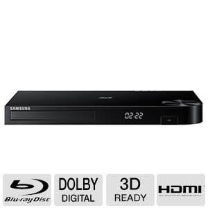 Samsung Blu-ray DVD Disc Player With Built-in Wi-Fi 1080p & Fu…