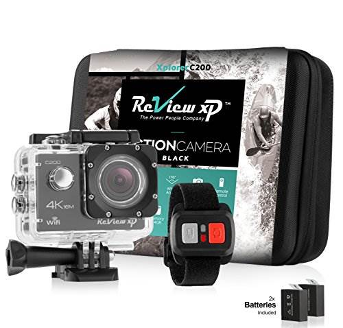 Review XP C200 Action Camera 4K 16MP Ultra HD Sports Waterproo…