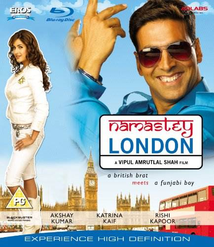 Namastey London Blu Ray [Blu-ray]