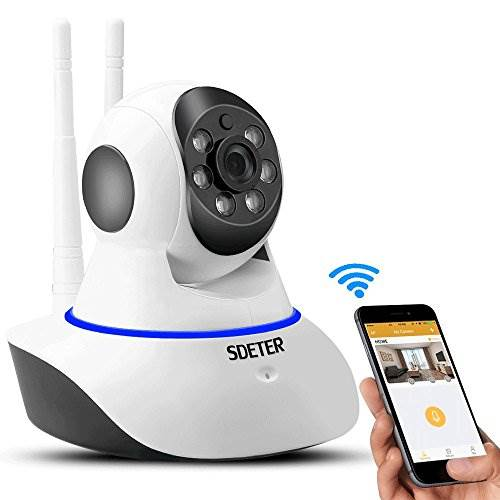SDETER 720P Home Wireless IP Camera, Wifi Security Camera with…