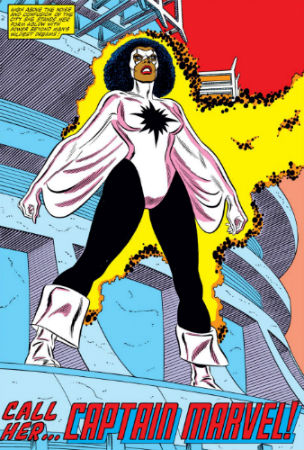 Captain Marvel Monica Rambeau Amazing Spider-Man Annual 16
