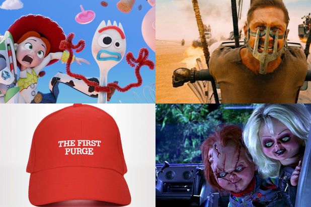 4th Movies Ranked Toy Story 4 Fury Road First Purge bride of chucky