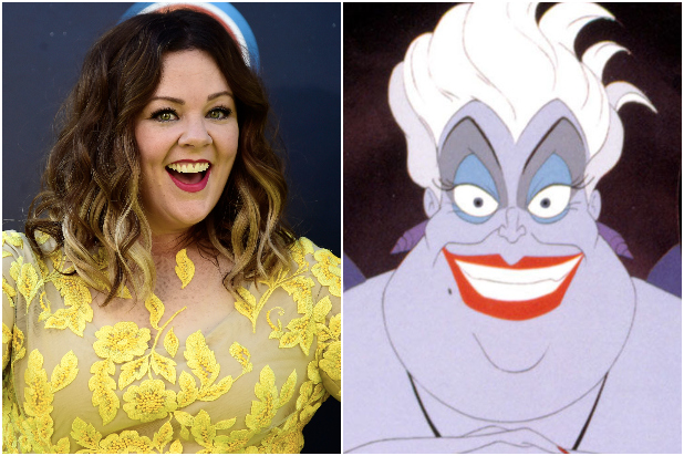 Melissa McCarthy Ursula
