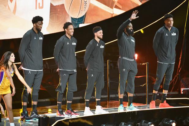 Team Stephen NBA All-Star Game