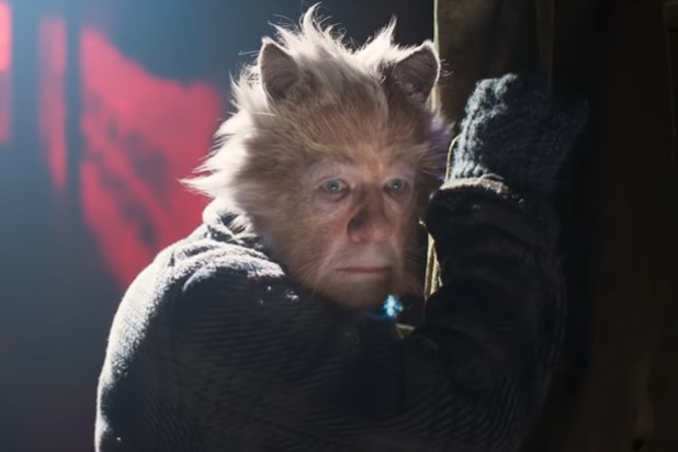 Ian McKellan Cats 2019 Gus The Theatre Cat