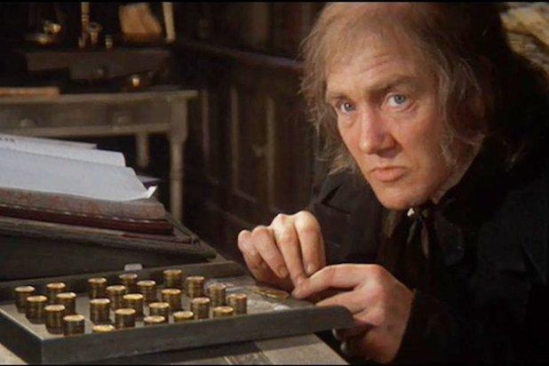 Albert Finney Scrooge 1970