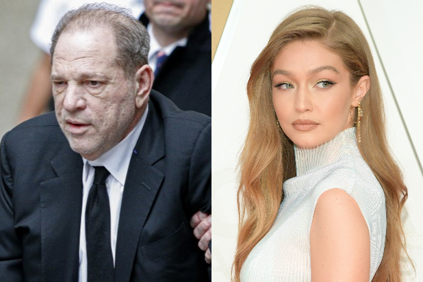 Harvey Weinstein Gigi Hadid
