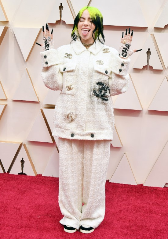 billie-eilish, Oscars 2020