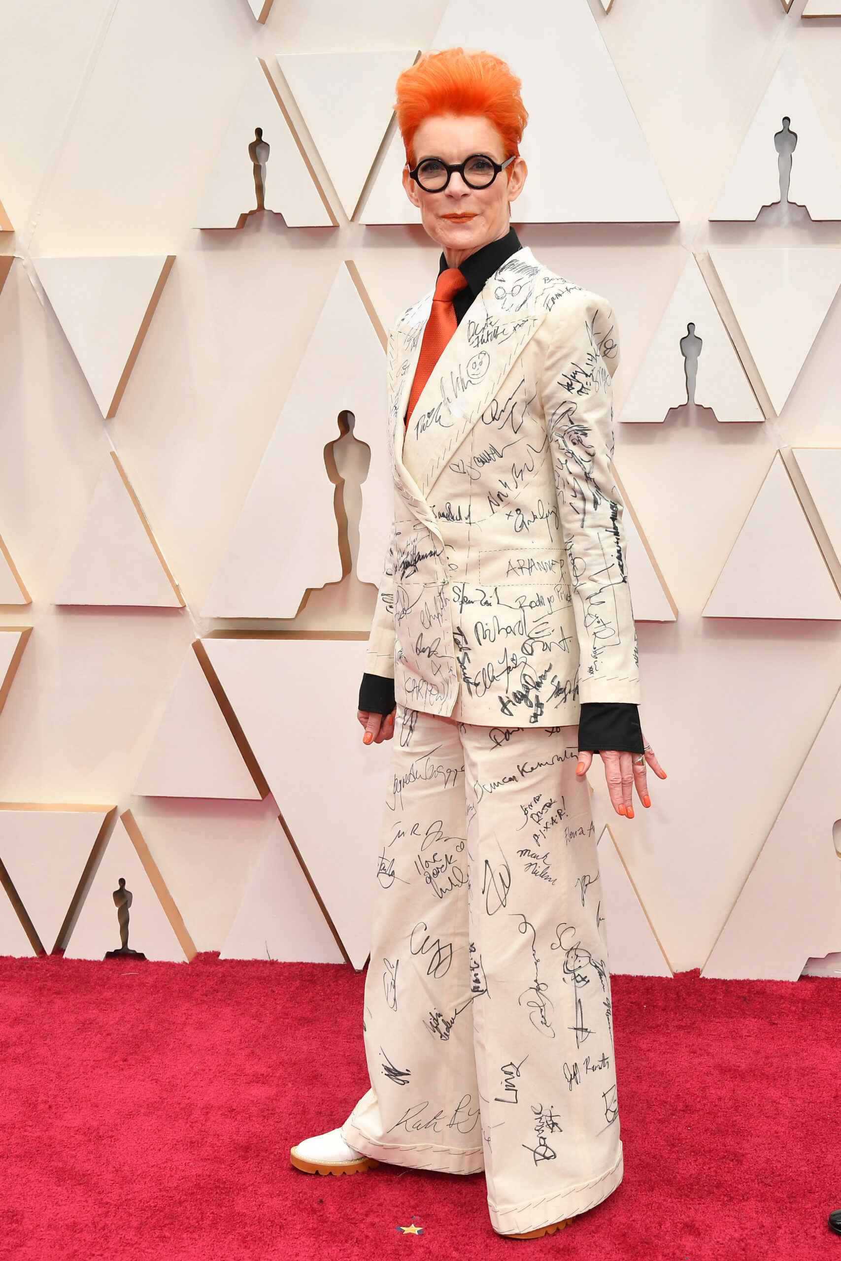 Costume designer Sandy Powell
