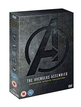 Marvel Studios Avengers 1-4 Complete Boxset [DVD] [2019]