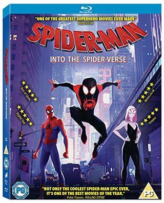 Spider-Man: Into the Spider-Verse [Blu-ray] [2018] [Region Free]