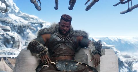 Winston Duke as M'Baku in Black Panther