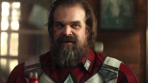 David Harbour as Red Guardian, Black Widow trailer