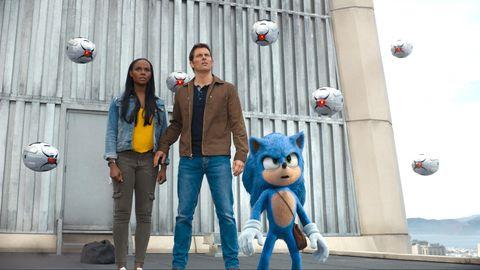 Tika Sumpter, James Marsden, Sonic the Hedgehog