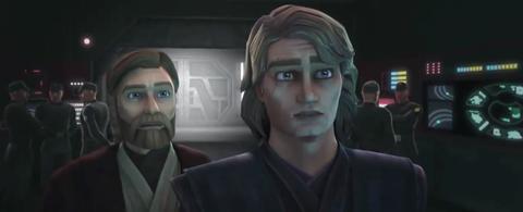 Star Wars: The Clone Wars revival: Obi-wan, Anakin Skywalker