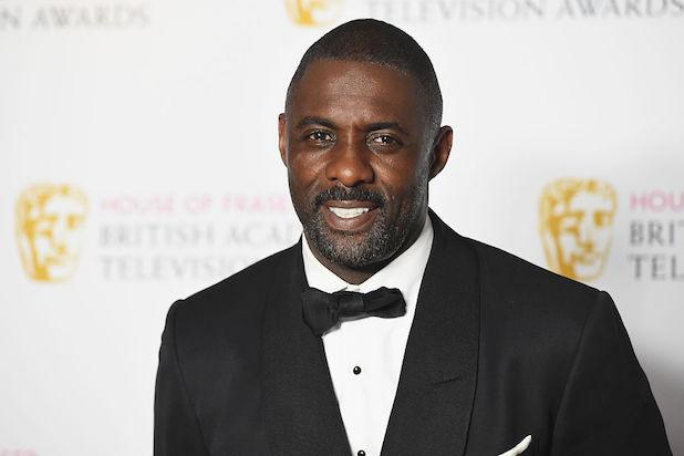 Idris Elba Tux Golden Globes