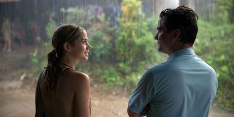 Ana de Armas and Wagner Moura in Netflix film Sergio