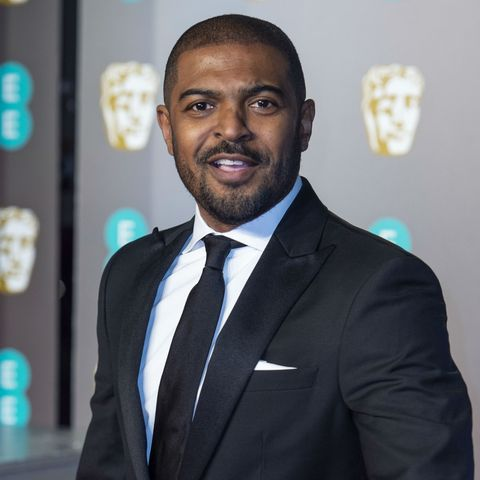 Actor and director Noel Clarke pictured on the red carpet at the BAFTA Film Awards in 2019