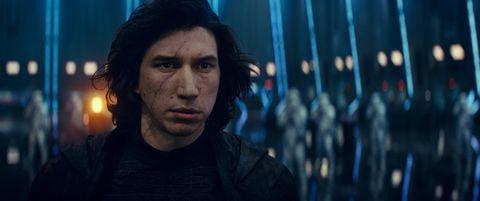star wars the rise of skywalker, adam driver as kylo ren