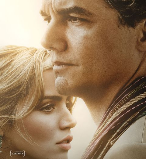 Ana de Armas and Wagner Moura in Sergio film poster