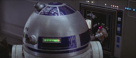 r2 d2 in star wars a new hope