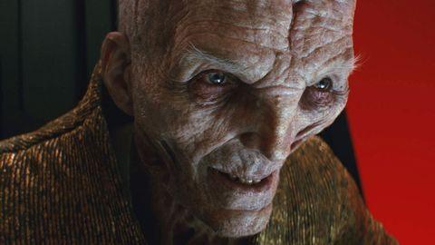 supreme leader snoke, star wars the last jedi