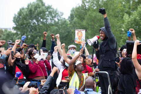 john boyega at black lives matter london protests