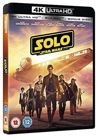 Solo: A Star Wars Story [4K] [Blu-ray] [2018] [Region Free]