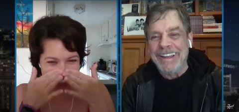 star wars' mark hamill surprises a fan on jimmy kimmel