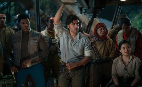 star wars the rise of skywalker, oscar isaac as poe dameron