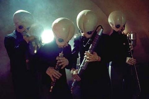 star wars a new hope cantina band