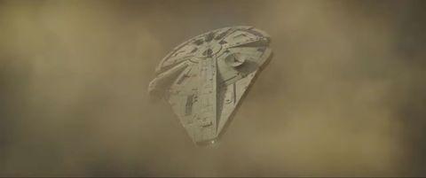 millennium falcon in solo a star wars story