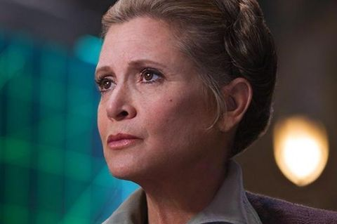 carrie fisher general leia star wars the force awakens