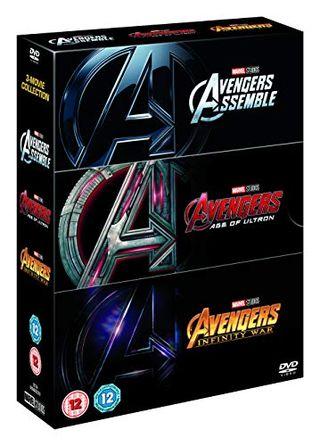 Avengers Triplepack Boxset [DVD] [2018]