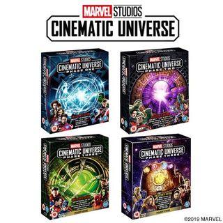 Marvel Phase 1-3 complete set Blu-ray