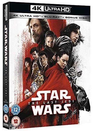 Star Wars: The Last Jedi  [4K UHD] [Blu-ray] [2017]
