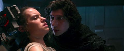 star wars the force awakens, kylo ren, rey