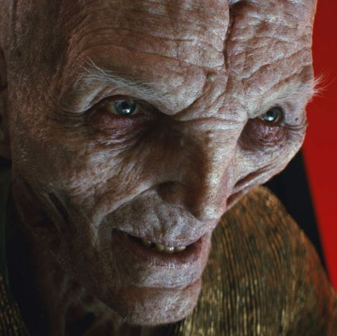 supreme leader snoke, star wars the last jedi