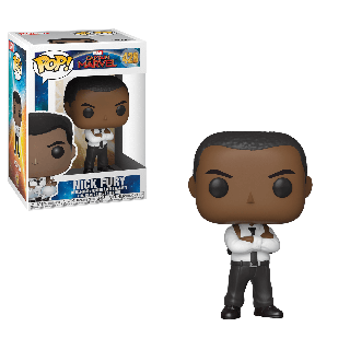 Captain Marvel: Nick Fury Pop! Vinyl Figure