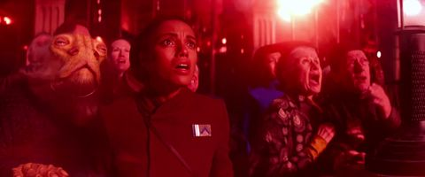 korr sella in star wars the force awakens, played by maisie richardson sellers