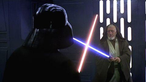 obi wan kenobi vs darth vader star wars