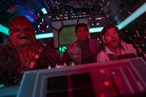star wars the rise of skywalker, chewbacca, finn and poe