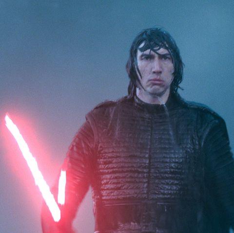 adam driver as kylo ren, star wars the rise of skywalker