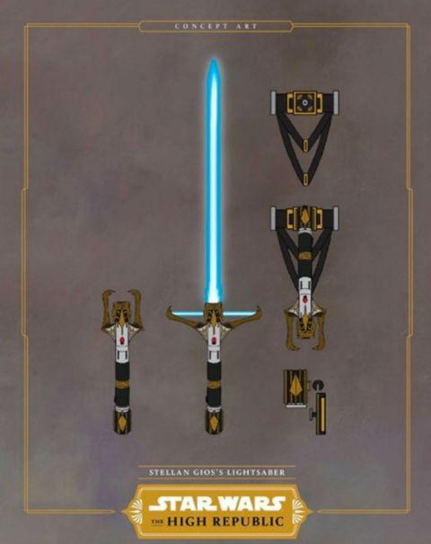 star wars the high republic lightsaber design