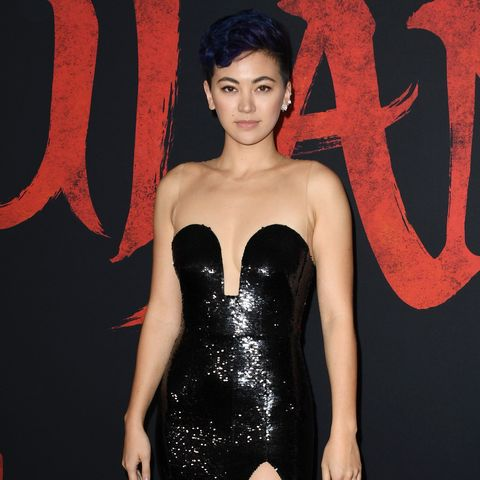 jessica henwick at the mulan premiere in march 2020