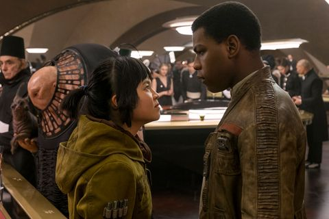 rose tico and finn in star wars the last jedi