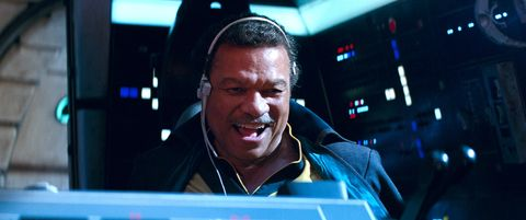 billy dee williams as lando, star wars the rise of skywalker
