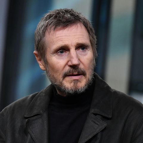 liam neeson visits build series to discuss his new movie 'the commuter'