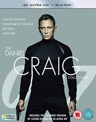 James Bond - The Daniel Craig Collection 4K UHD + BD Blu-ray 2019