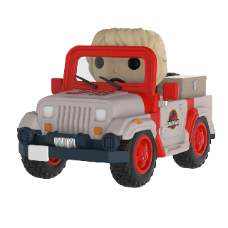 Jurassic Park: Jeep Pop! Vinyl Ride